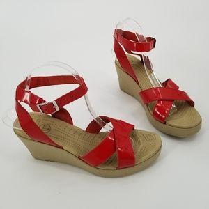 Crocs Wedge Sandals 10